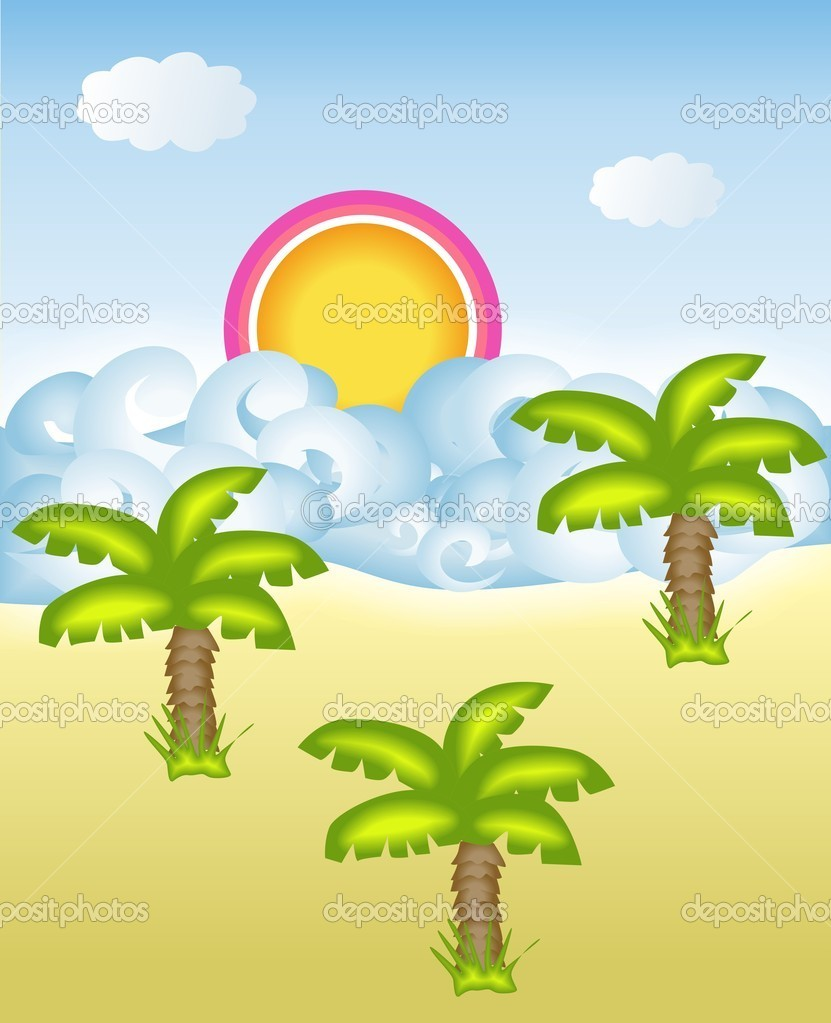 Sol E Mar Stock Vector C Socris79 7972068