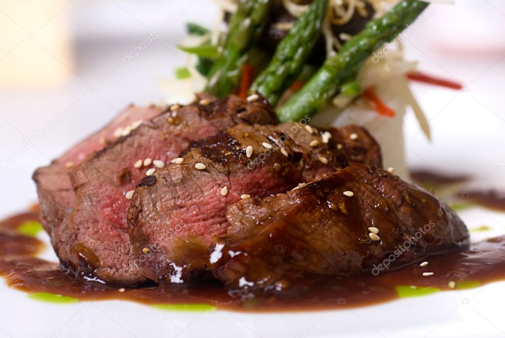 Gourmet fillet mignon steak