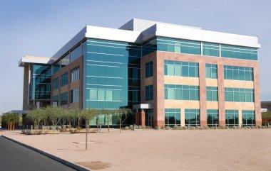 Generic modern empty office building