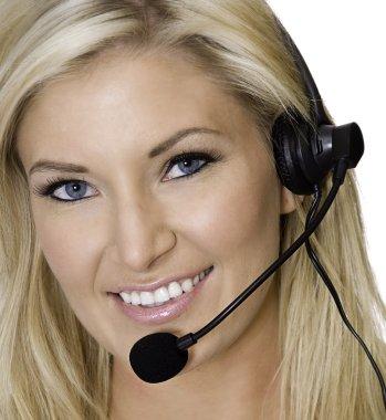 Customer service sales woman