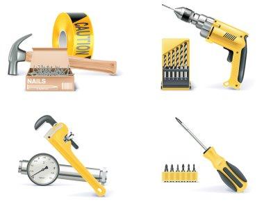 Vector Homebuilding & Renovating icon set. Part 1