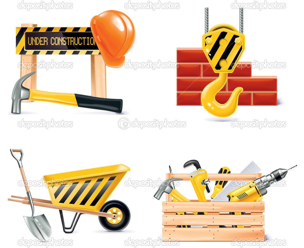 Homebuilding renovando icon set vector parte 4 for Homebuilding com