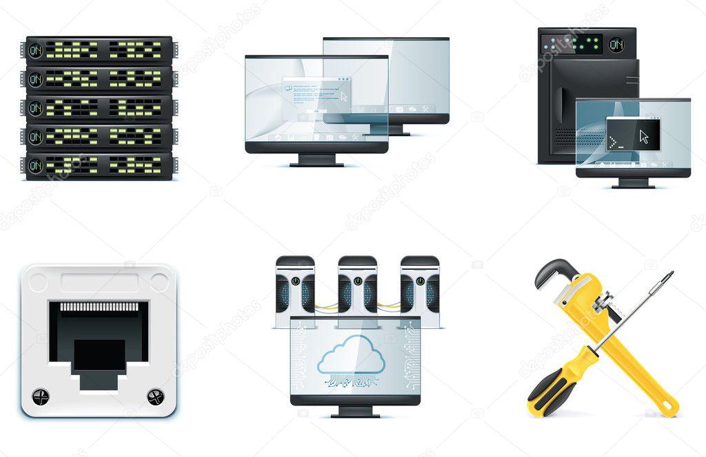 Computer icon set. Part 2