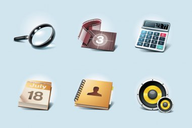 Vector application icons. Part 2