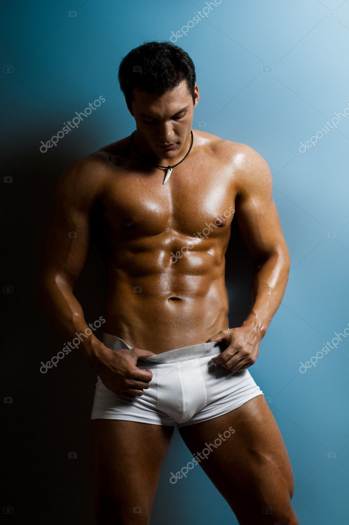 man Hard sexy