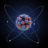 Photo Atom - computer generated illustration