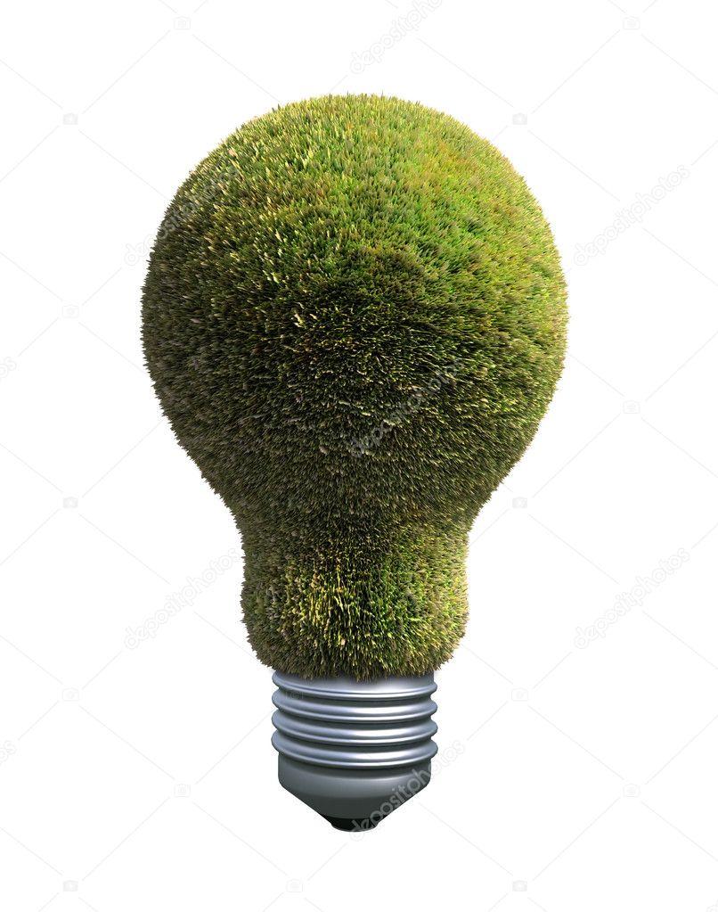 Green energy symbol — Stock Photo © Mopic #8021337
