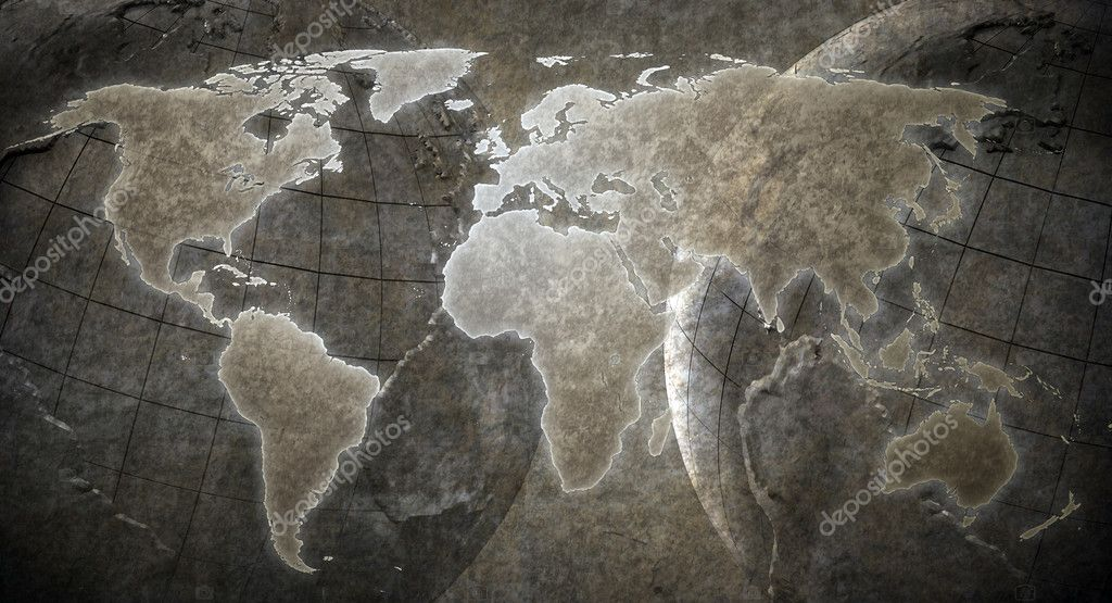 Grunge world map background stock photo mopic 8022801 grunge world map background stock photo 8022801 gumiabroncs Gallery