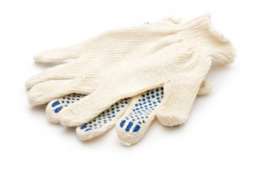 Gloves isolated on white