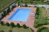 Fotografie Schwimmbad innen Resort, Pushkar, Indien
