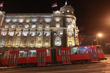 Tramway in Belgrade, Serbia