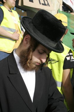 Lag Baomer pilgrims, meron, israel
