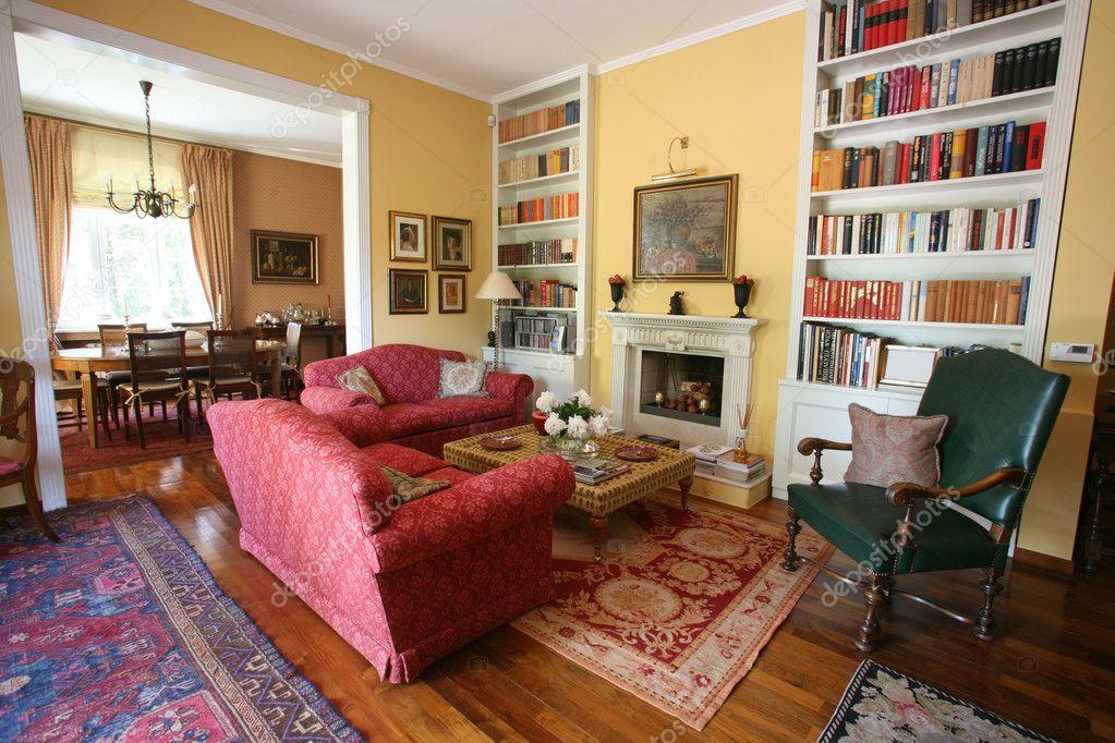 Accogliente salotto — Foto Editoriale Stock © paulprescott #8045323