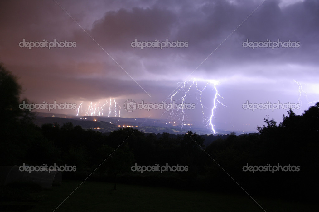 16 bolts of lightning