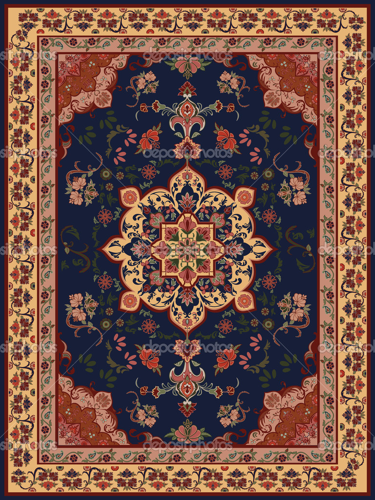 Carpet Design Stock Illustration