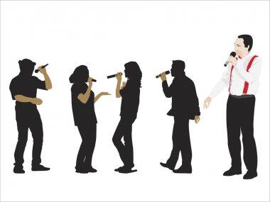 Conferencier And Singers