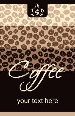 Template Coffee shop menu