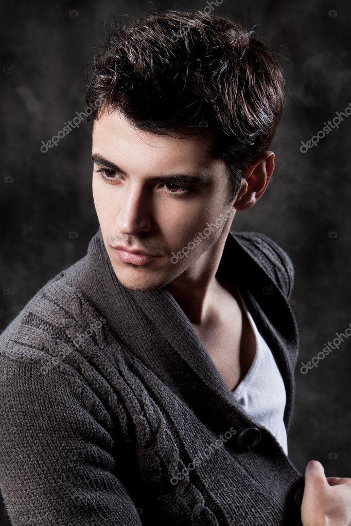 Fashion Shot of a macho Man.