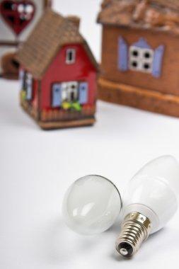 Energy saving lightbulbs