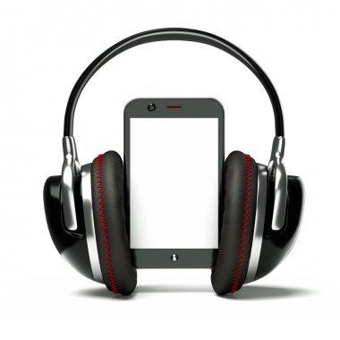 Creative cellphone with headphones