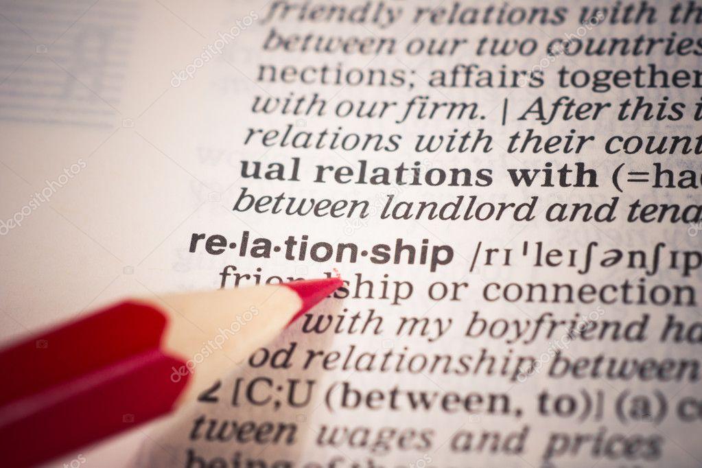 Beziehungsbedeutung