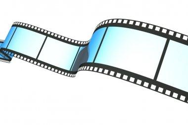 Film on white