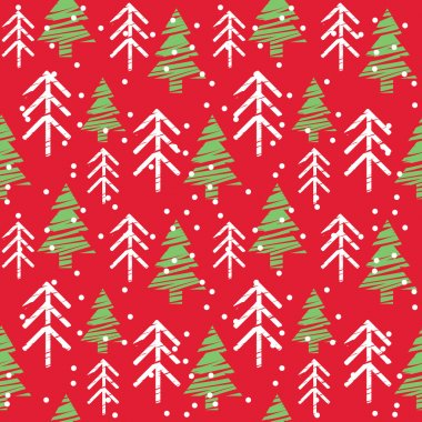 Seamless Christmas Pattern stock vector