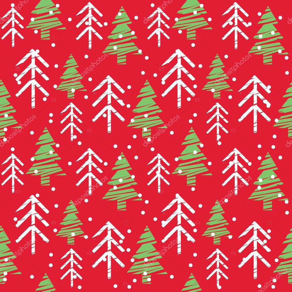 Seamless Christmas Pattern Stock Vector C Korobovaok 10178209