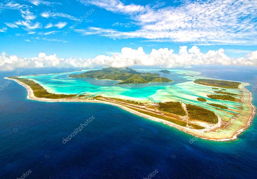 Фотообои Bora Bora island