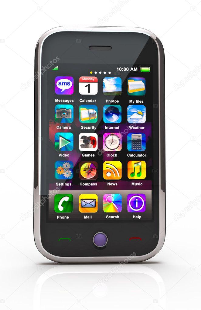 Inteligentny Ekran Dotykowy Telefon Inteligentny Telefon Telefon