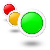 Consumpion-, energia- és környezetvédelmi többcélú koncepció üres gombok