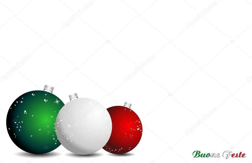Weihnachten In Italien frohe weihnachten-italien — stockvektor © letyg84 #8176257