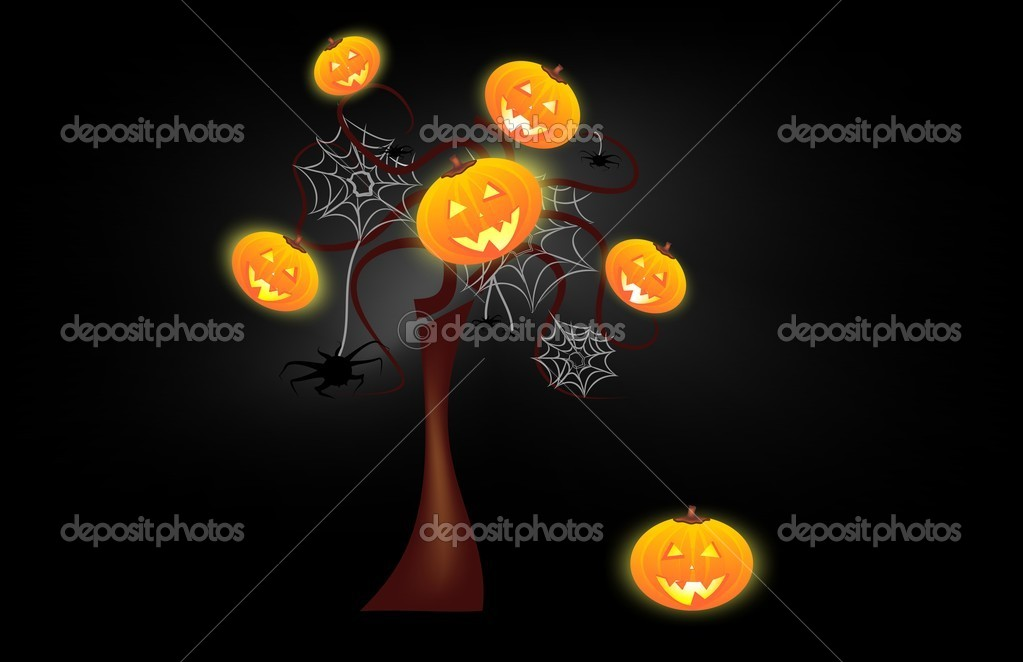 funny halloween background stock vector letyg84 8198134