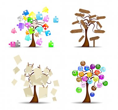 Original set of trees