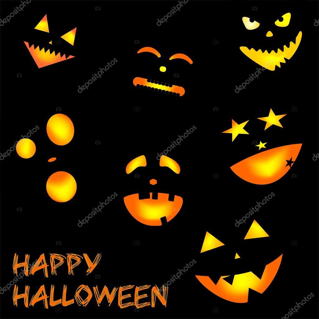 funny halloween background stock vector letyg84 8274566