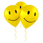 Fotografie Balloons with smiley faces