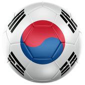 South korean soccer ball