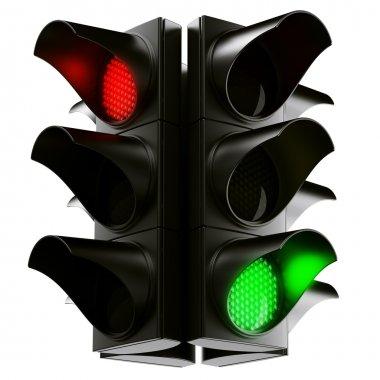 Traffic light cross