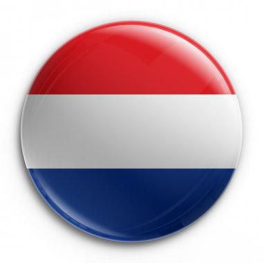 Badge - Dutch flag