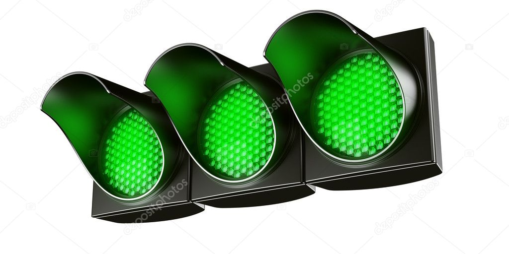 how to make traffic lights turn green