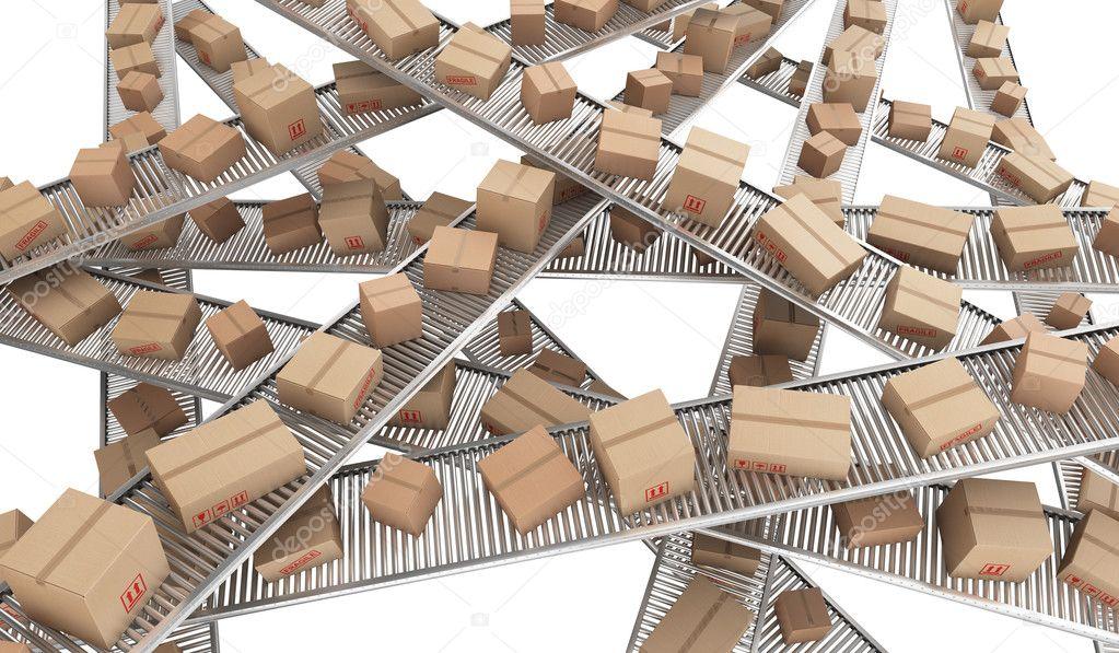 Conveyor belt chaos