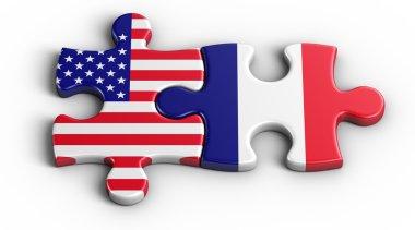 USA - France
