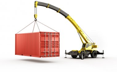 Heavy shipping container