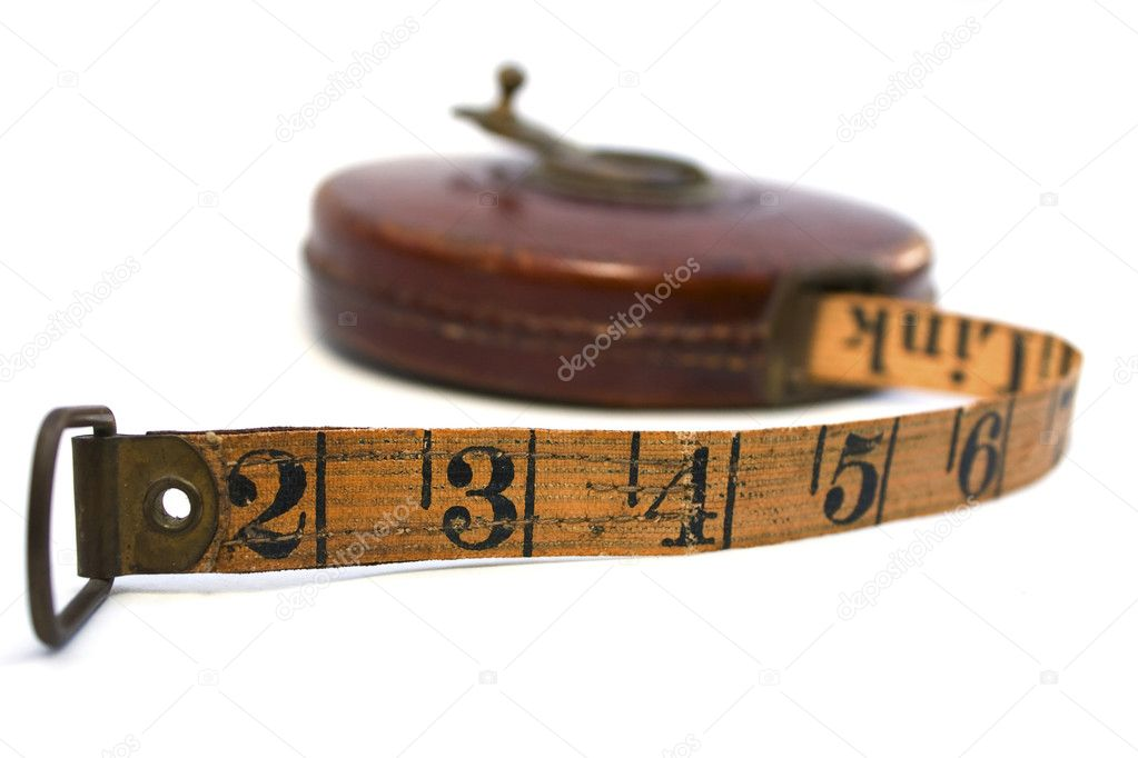 Old Tape Measure — Stock Photo © LouiseDocker #8762266