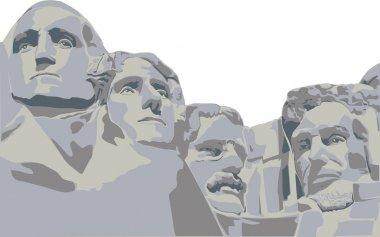 Four presidents Mount Rushmore