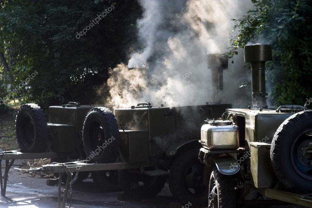 Kuchnia Polowa Steam Zdjecie Stockowe C Zeonn 8142513