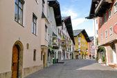 Fotografie Straßen zum Zentrum von Kitzbühel - Österreich