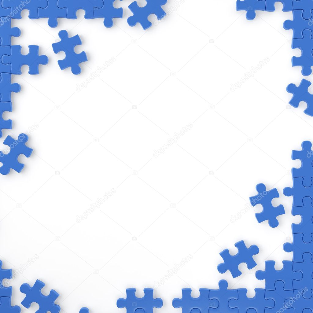 Puzzle frame stock photo arquiplay77 8198173 puzzle pieces forming a frame for your own text or design with copy space this image contains a clipping path for exact isolation photo by arquiplay77 jeuxipadfo Images