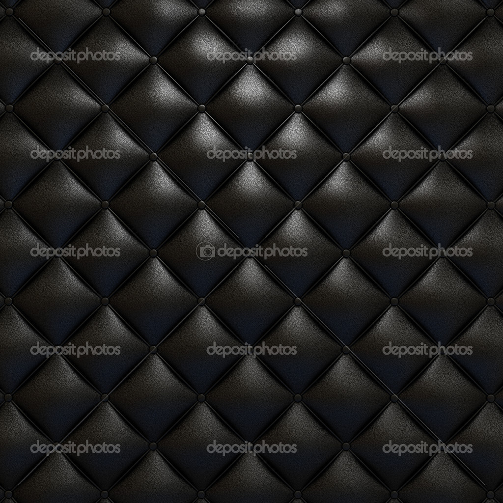 Black leather upholstery texture