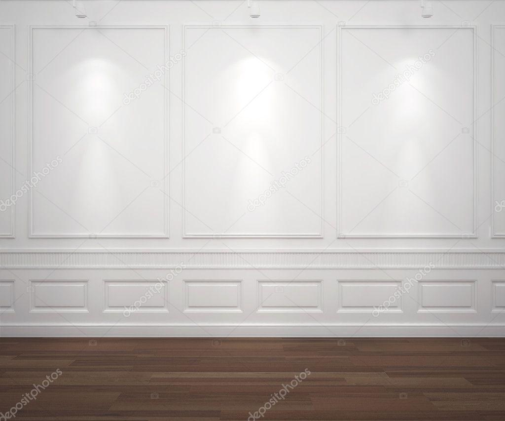 Spotslight en la pared blanca clasis fotos de stock - Focos de pared interior ...